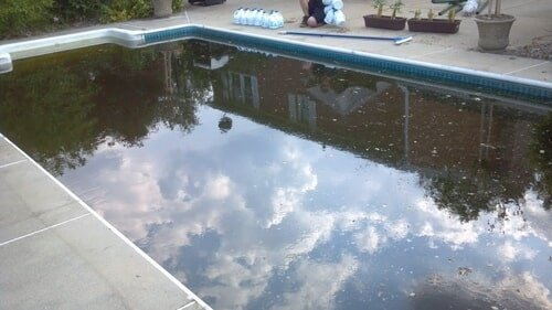 green to clean service pool and hot tub liner installation the pool guy