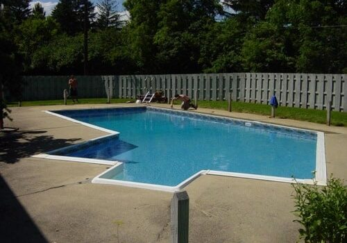 swimming pool liner installation pool and hot tub liner installation finished