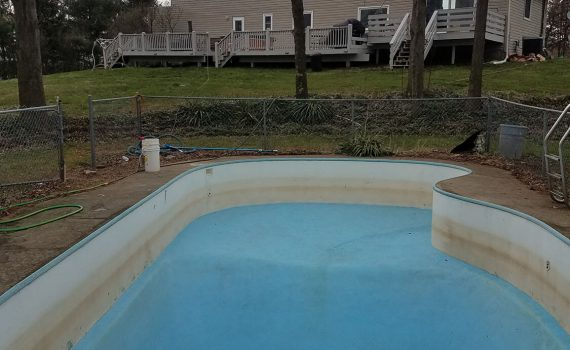 pool liner repair bucyrus ohio by the pool guy