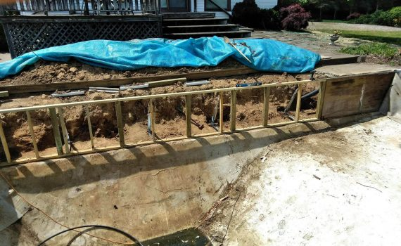 pool installation near wooster ohio by the pool guy