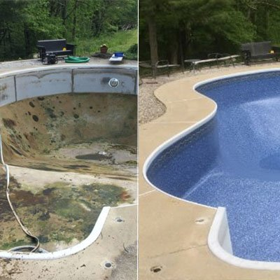Pool Liner Repair Columbus Ohio